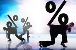 Большая процентная ставка микрокредитов